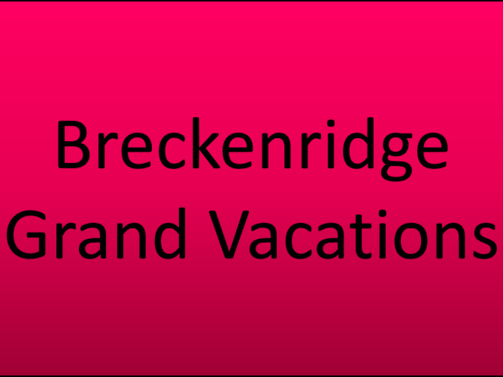 Breckenridge Grand Vacations