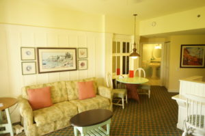 BoardWalk DVC living room