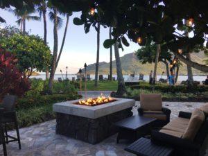 Firepit at Kukui's Kauai