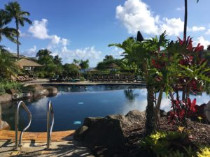 Westin Ocean pool Kauai