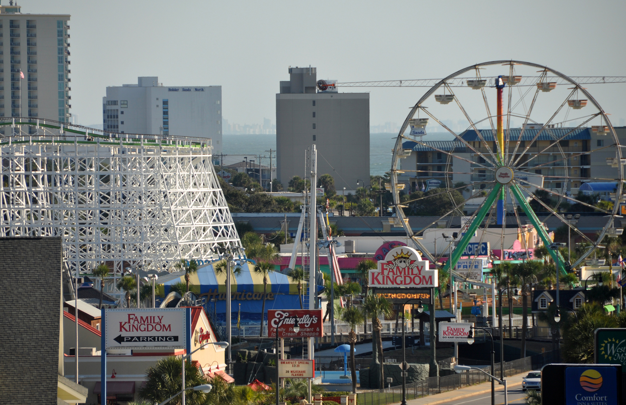 Myrtle Beach Sc Amusement Park View Vacation Club Loans
