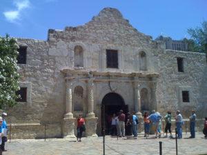 The Alamo building