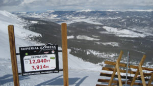 high altitude sign