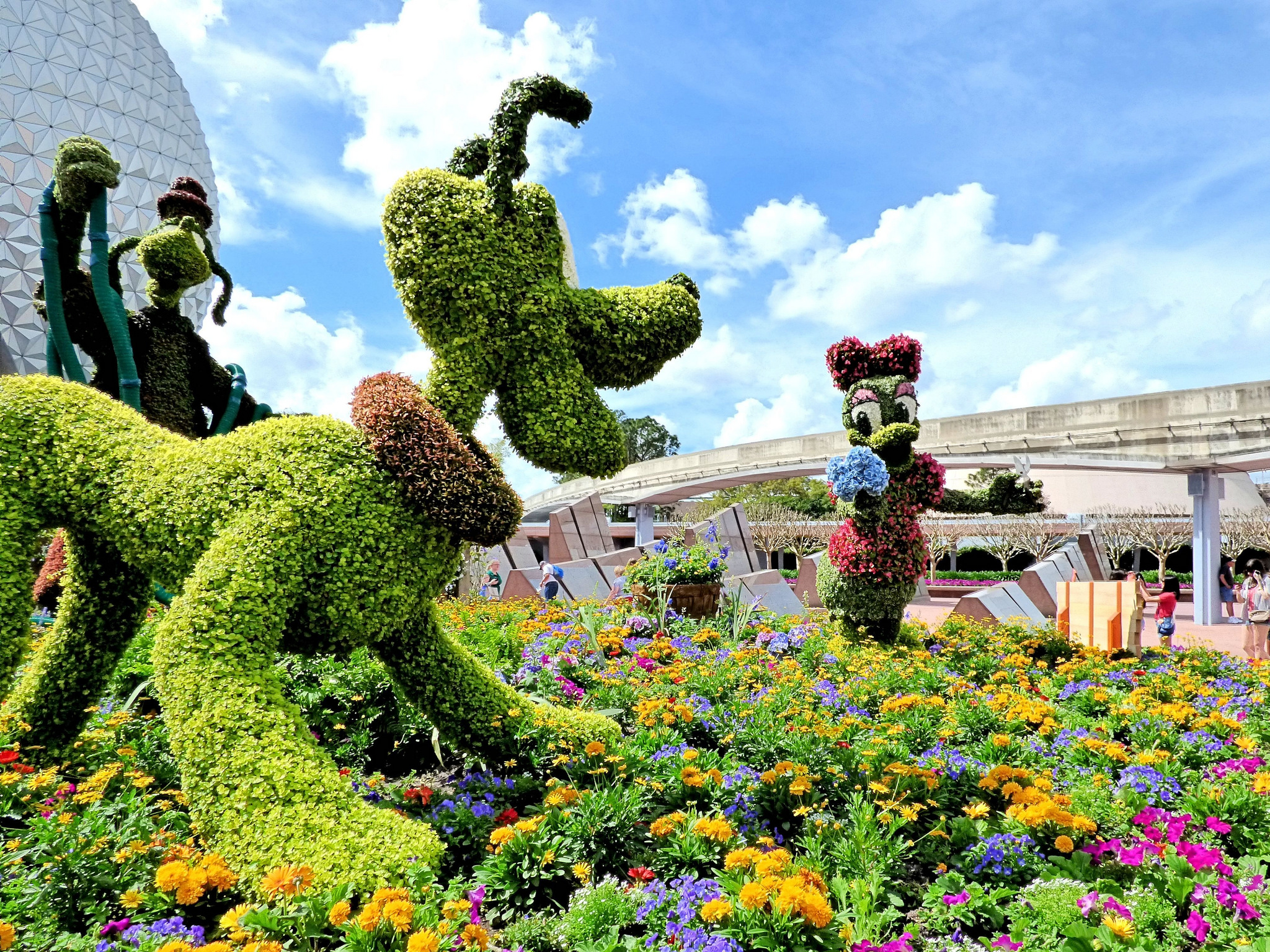 2018 Epcot International Flower Garden Festival Thru